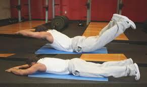 Выгибание спины лежа на животе при простатите