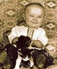 Маленький Юра Шевчук.