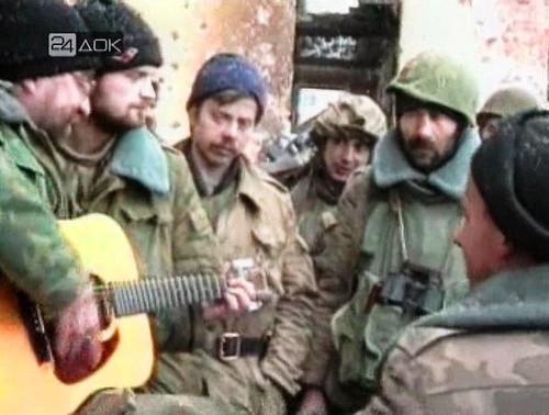 Юрий Шевчук в Чечне