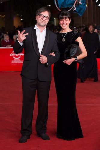 Юрий Шевчук со своей третьей женой Екатериной