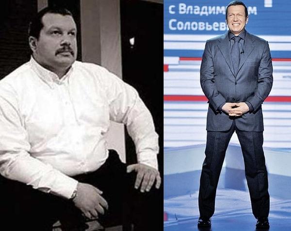 Владимир Соловьев Он Похудел. Диета Владимира Соловьева: как похудел знаменитый ведущий