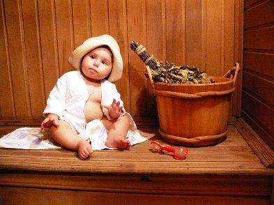 Дети и баня: с какого возраста можно ребенку в баню, как парить